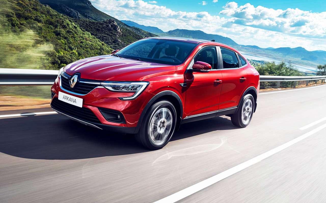 Renault Arkana или Haval F7: какой кроссовер выгоднее?— фото 979446