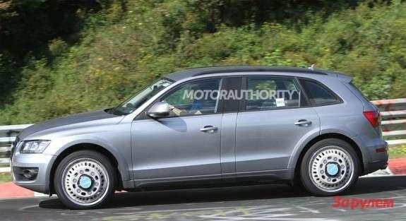 Audi Q6test-mule side view