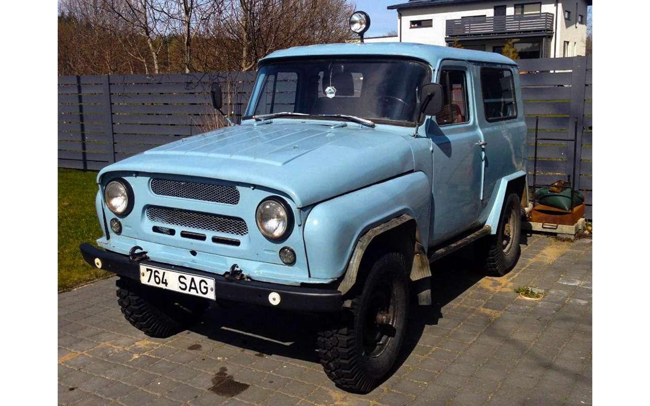 Гибрид УАЗа сГАЗом идругие малоизвестные серийные автомобили СССР— фото 933358