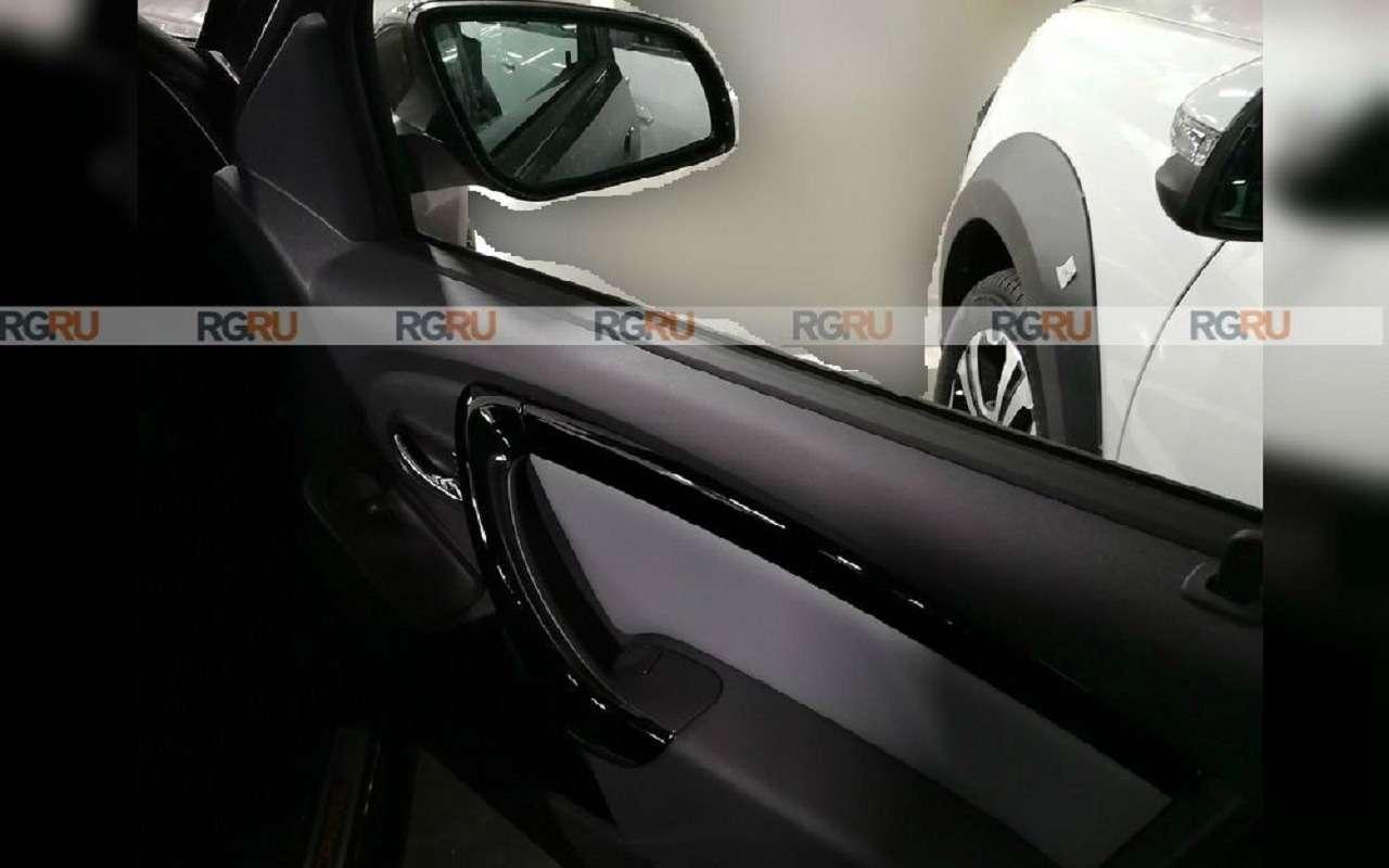 Опубликованы фото салона Lada Largus FL— фото 1215332