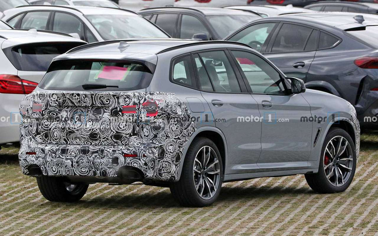 Первые фото обновленных BMW X3 и X4 - фото 1178378