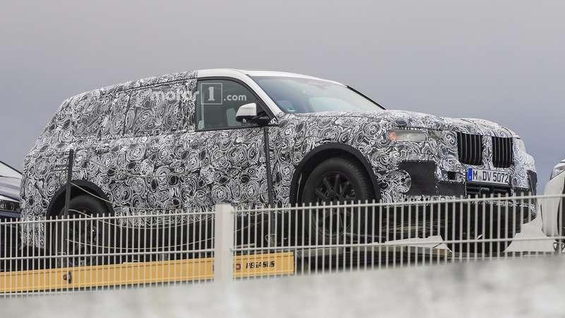 Большой кроссовер BMW X7дебютировал воплоти