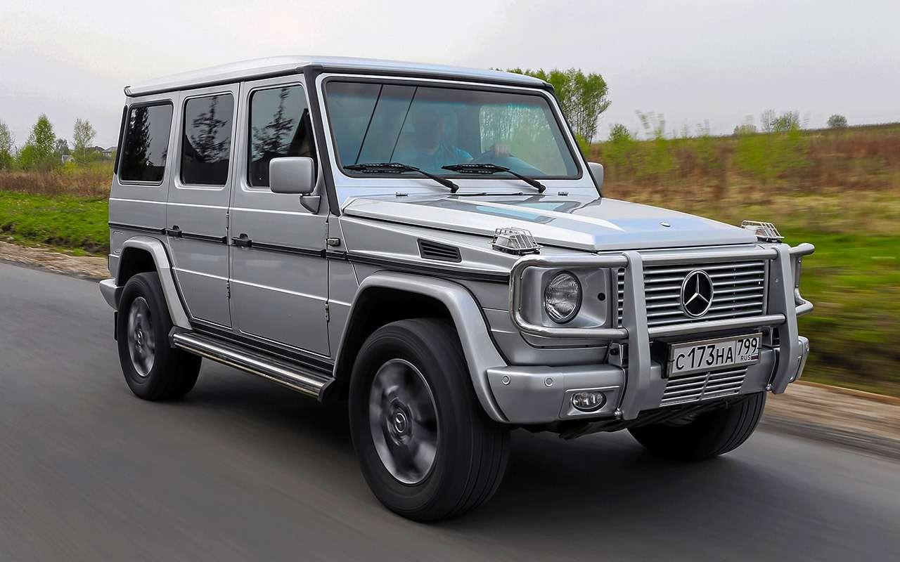 Что взять за1500000 руб.: новый Дастер против 22-летнего Mercedes G300— фото 1260699