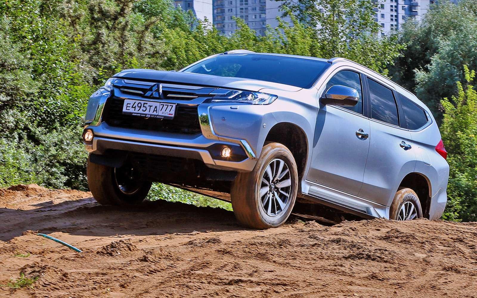 Новый Mitsubishi Pajero Sport: первый тест ипервая грязь!— фото 607607