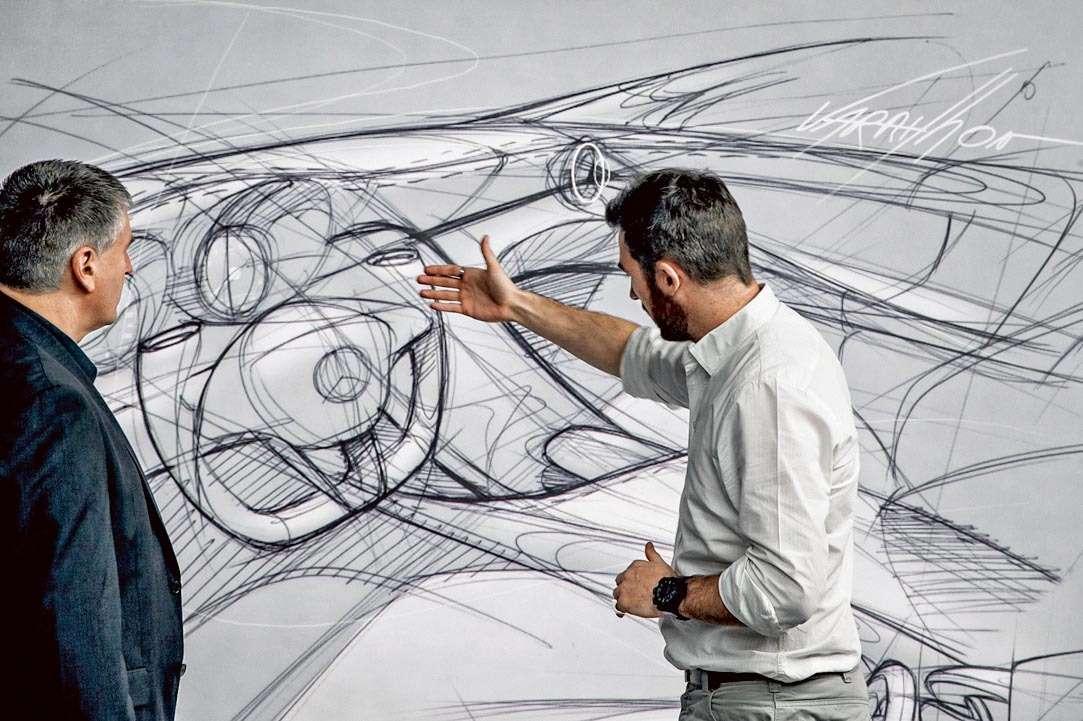 Mercedes-Benz C-Klasse Designprozess (W205) 2013