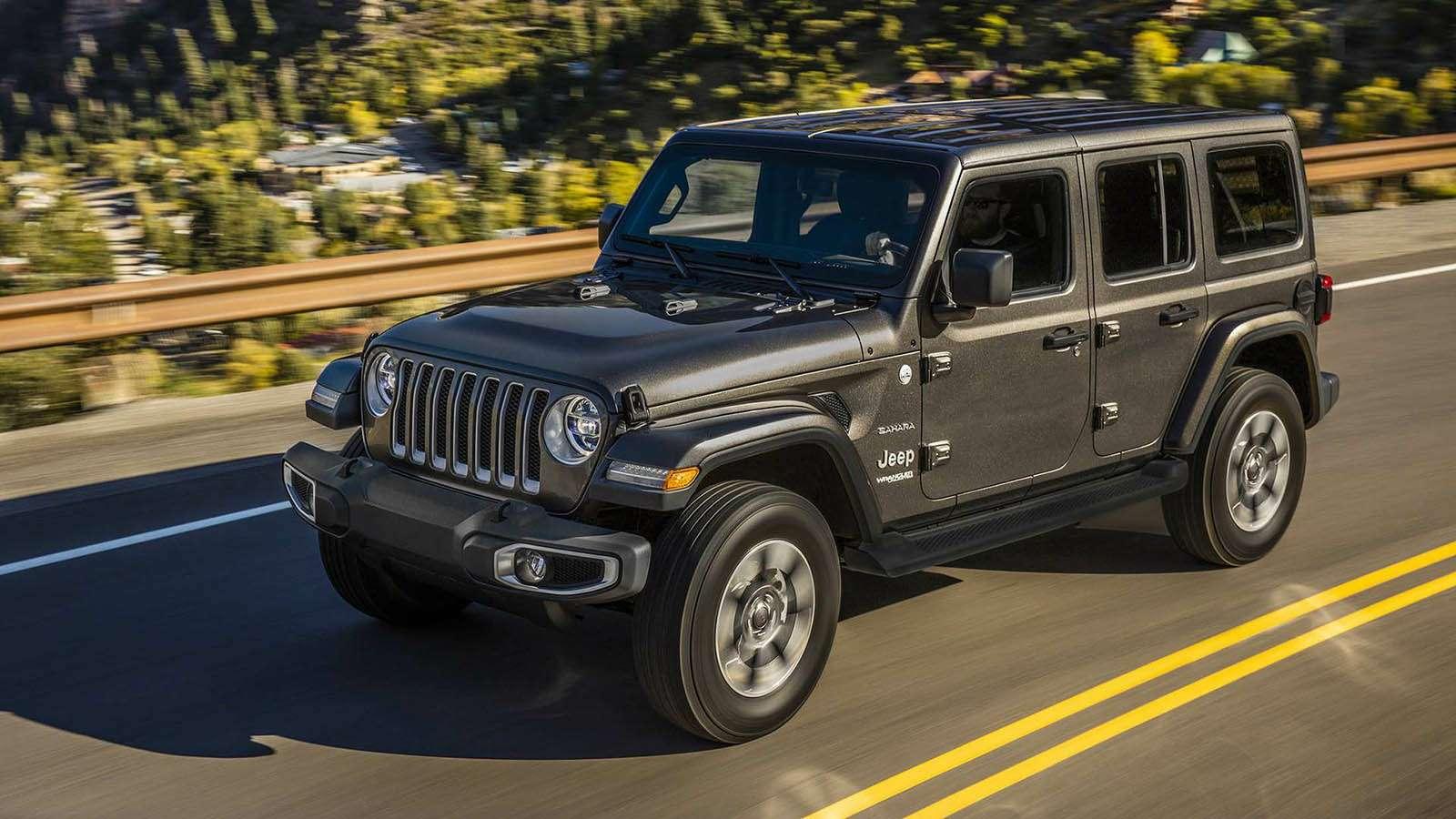 Новый Jeep Wrangler: найди десять отличий— фото 821238