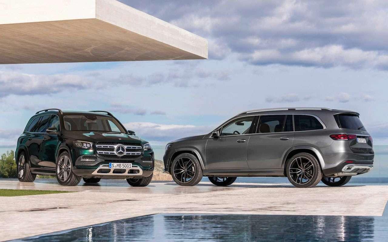 Новый Mercedes-Benz GLS: салон на7, двигатель на8— фото 967446