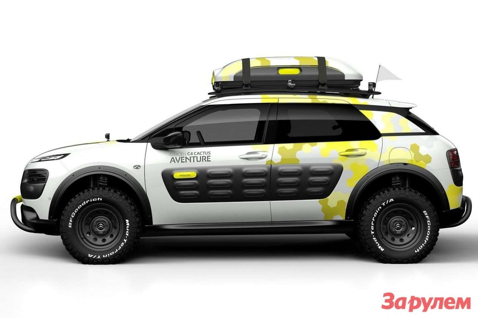 Citroen C4Cactus Aventure Concept