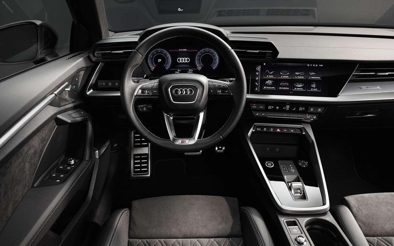 Audi показала седан A3нового поколения— фото 1118838