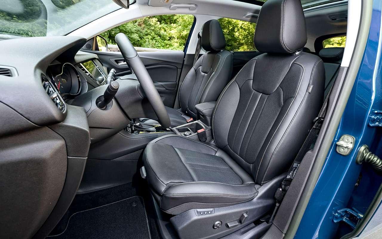 Первый Opel после возвращения: большой тест— фото 1171656