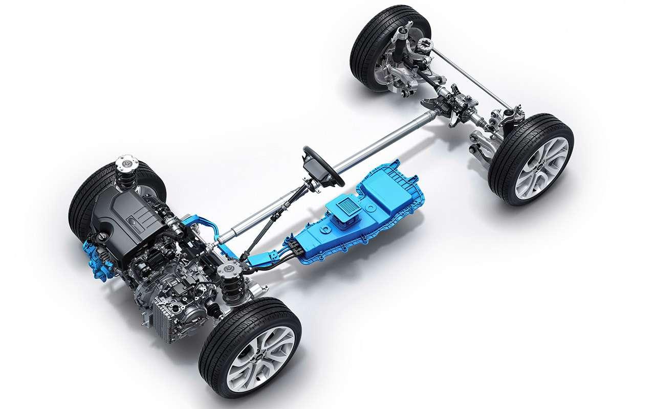 Автомобиль спрозрачным капотом— тест ЗР— фото 939338