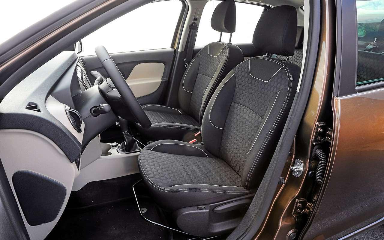 Большой тест обновленных бюджетников: Лада Гранта против Renault Logan— фото 914270