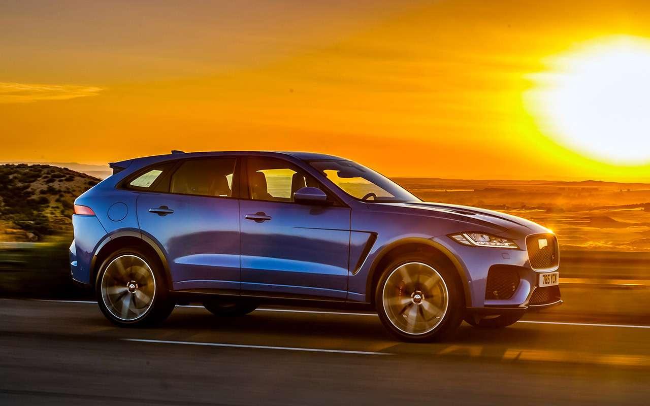 Двеобновленные модели Jaguar: вРоссию приедет только одна— фото 975499