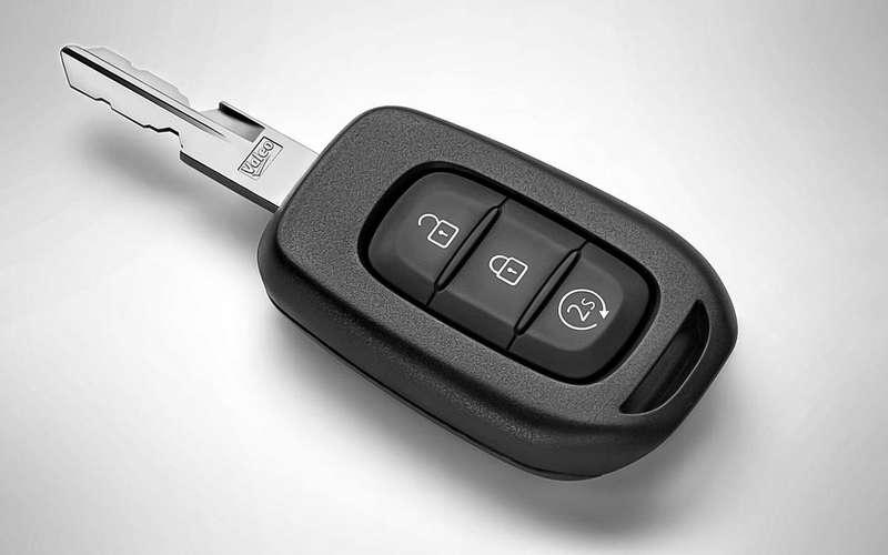 Ключ суправлением Renault Start