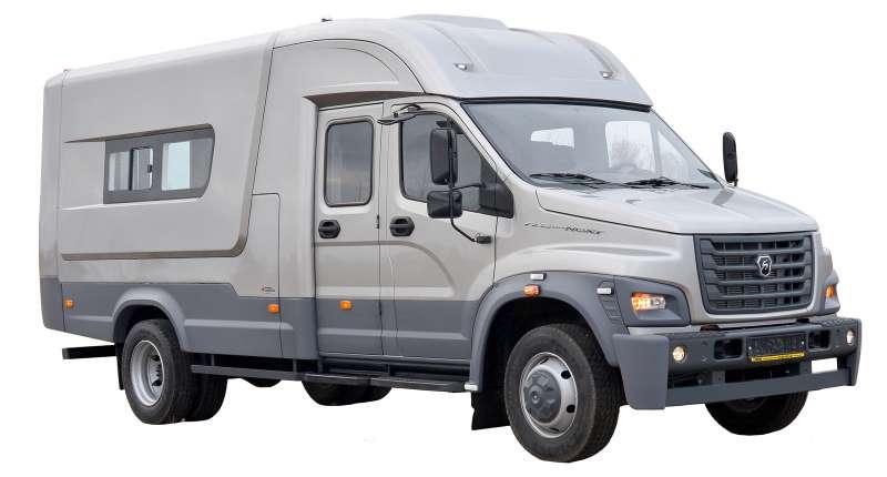 ГАЗ представил две новики: внедорожный пикап имикроавтобус «Соболь 4х4» Next