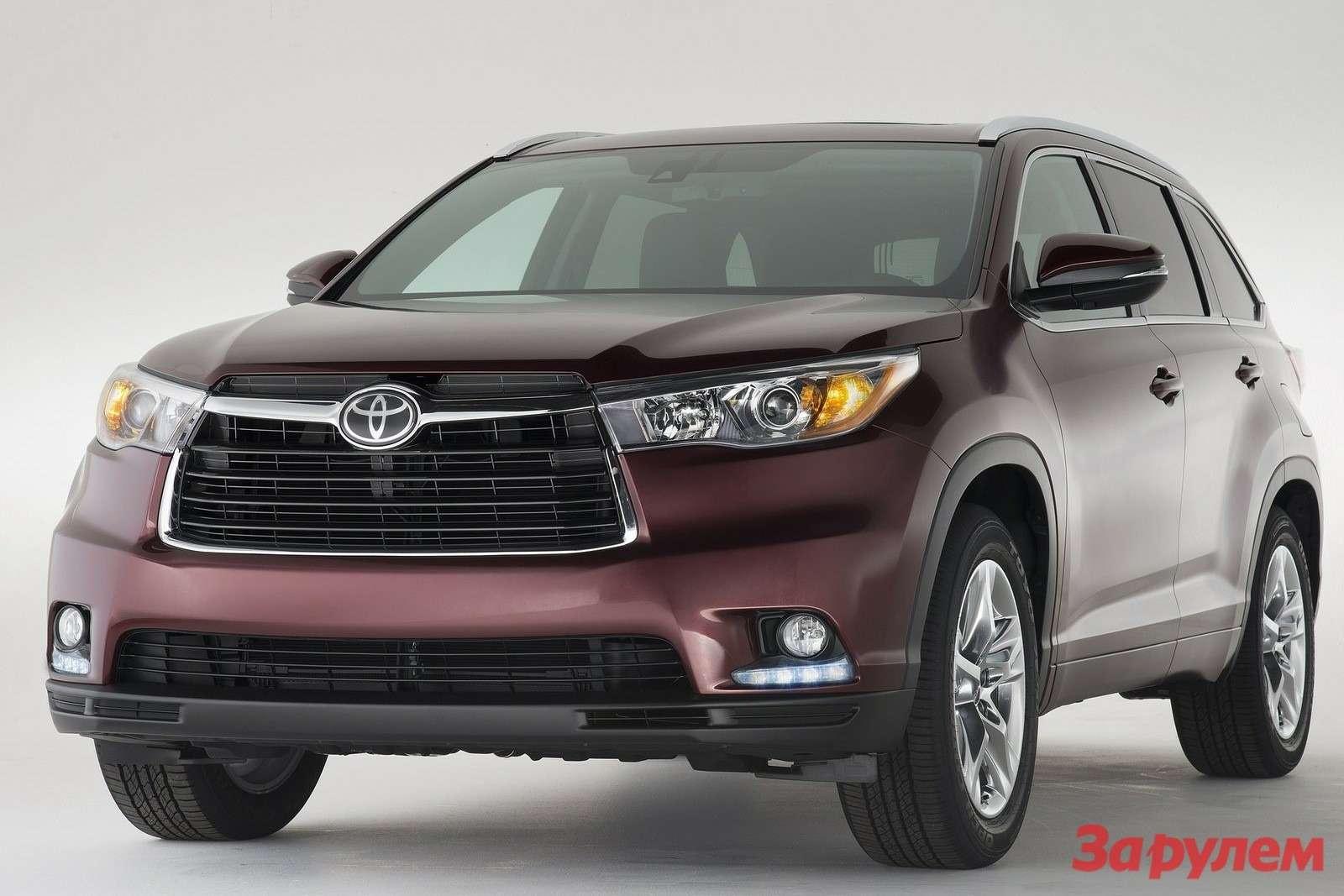Toyota Highlander 2014 1600x1200 wallpaper 02