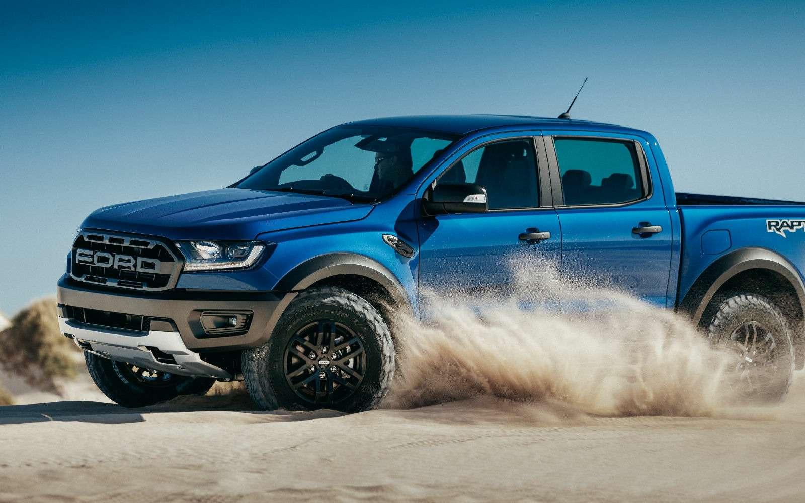 Длядорог инаправлений: представлен экстремальный Ford Ranger Raptor— фото 843212