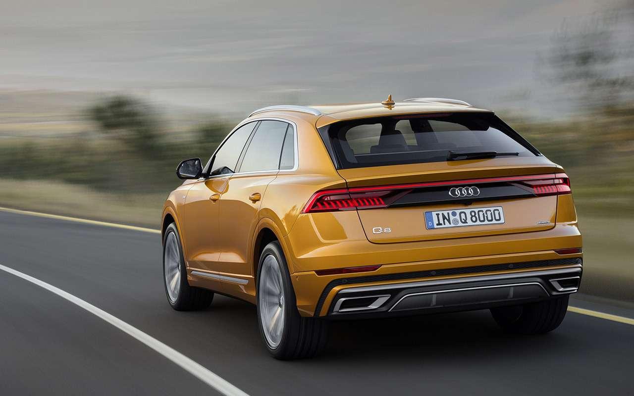 Новый Audi Q8: когда восемь меньше семи— фото 882150
