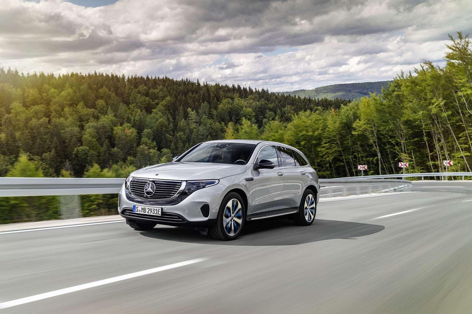 Электрический Mercedes-Benz EQC: два мотора и450 километров назарядке— фото 902236