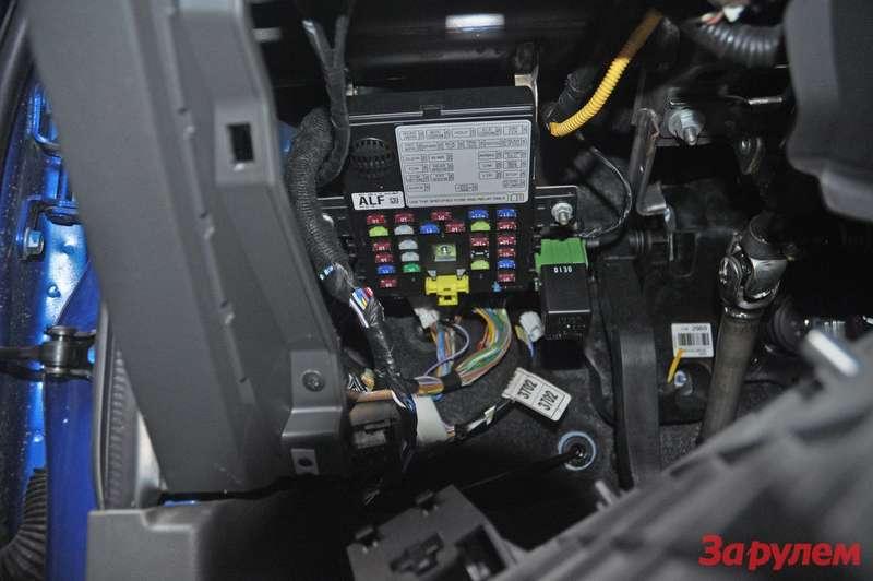 Блок предохранителей Chevrolet Spark