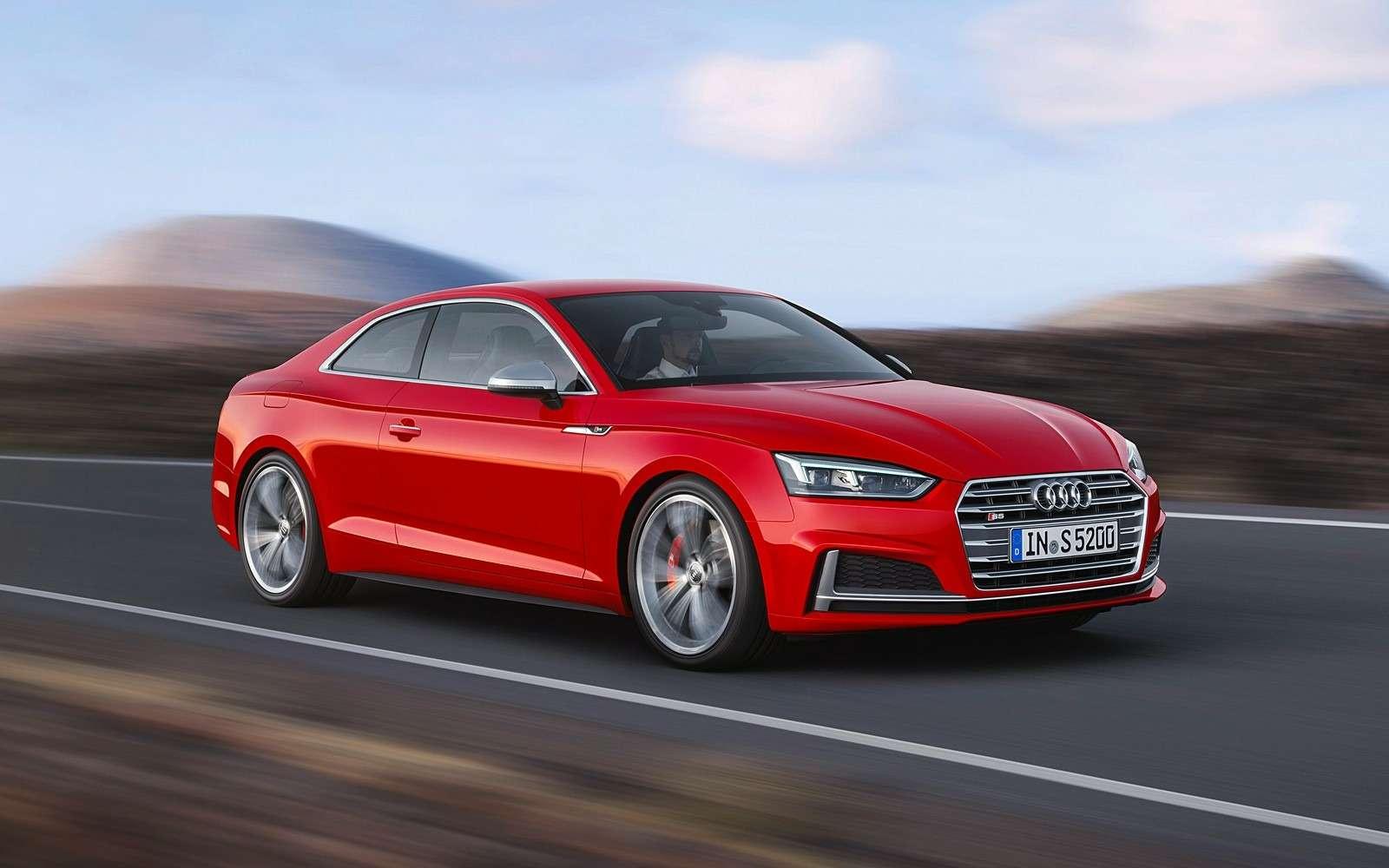 Новый Audi A5не стал «ломать глаза»— фото 594568