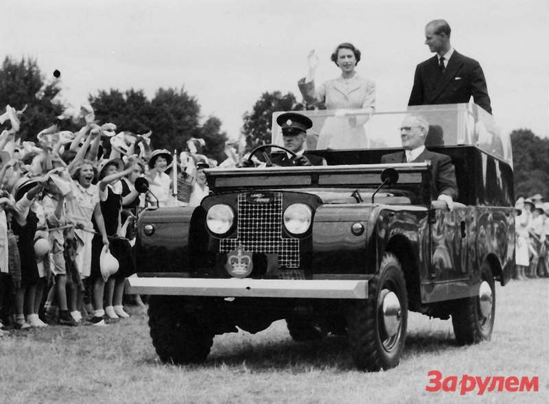 Queen Elizabeth and Prince Philip ontour ofNew South Wales, Australia, 1954
