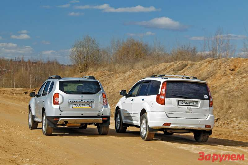Great Wall Hover H3 и Renault Duster