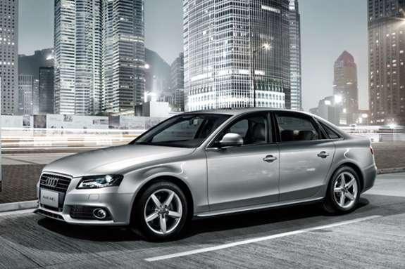Audi A4L side-front view