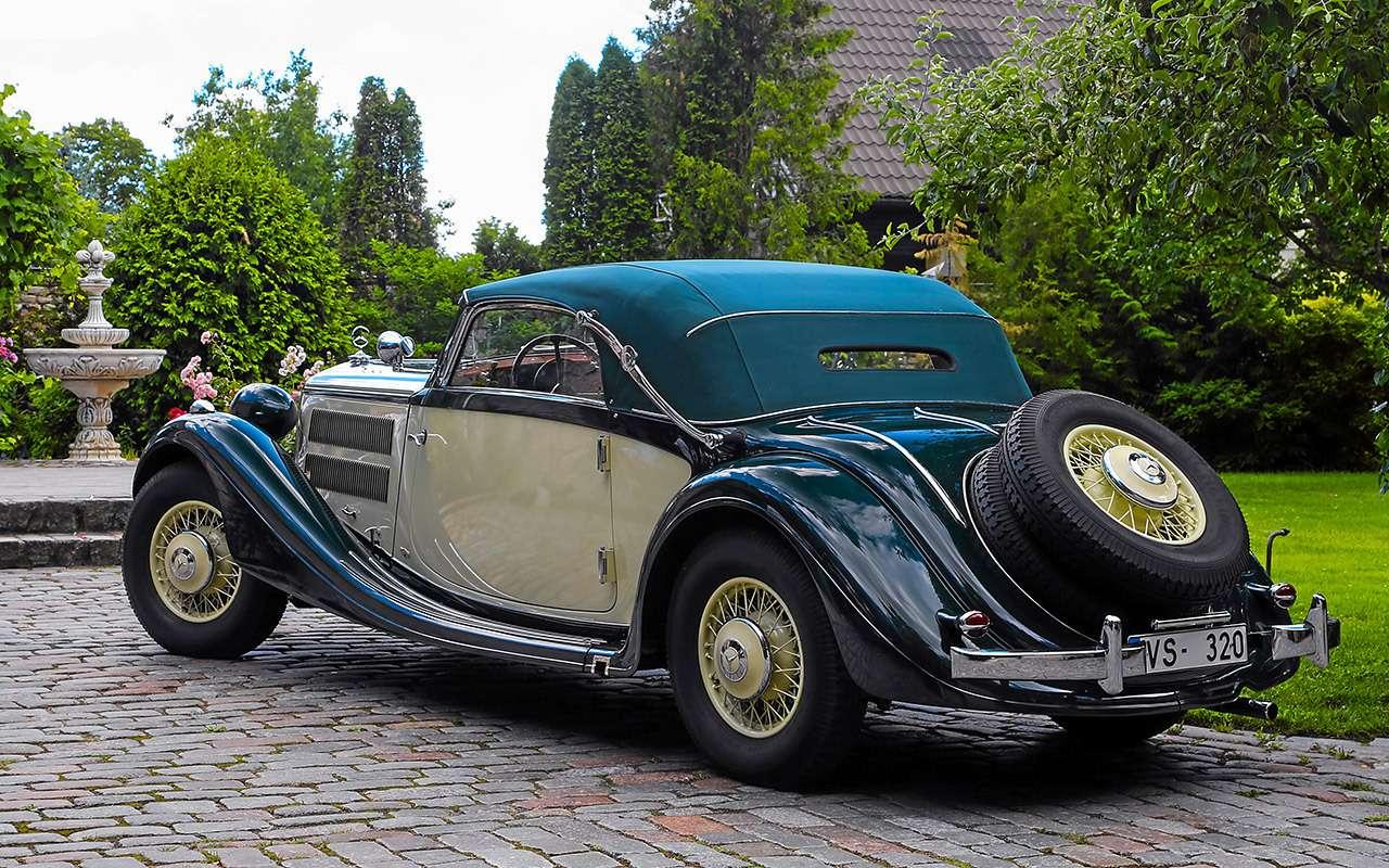 Очень редкий Мерседес W142— ретротест кабриолета-пенсионера— фото 950188