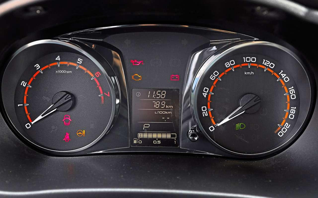 Большой тест обновленных бюджетников: Лада Гранта против Renault Logan— фото 914247