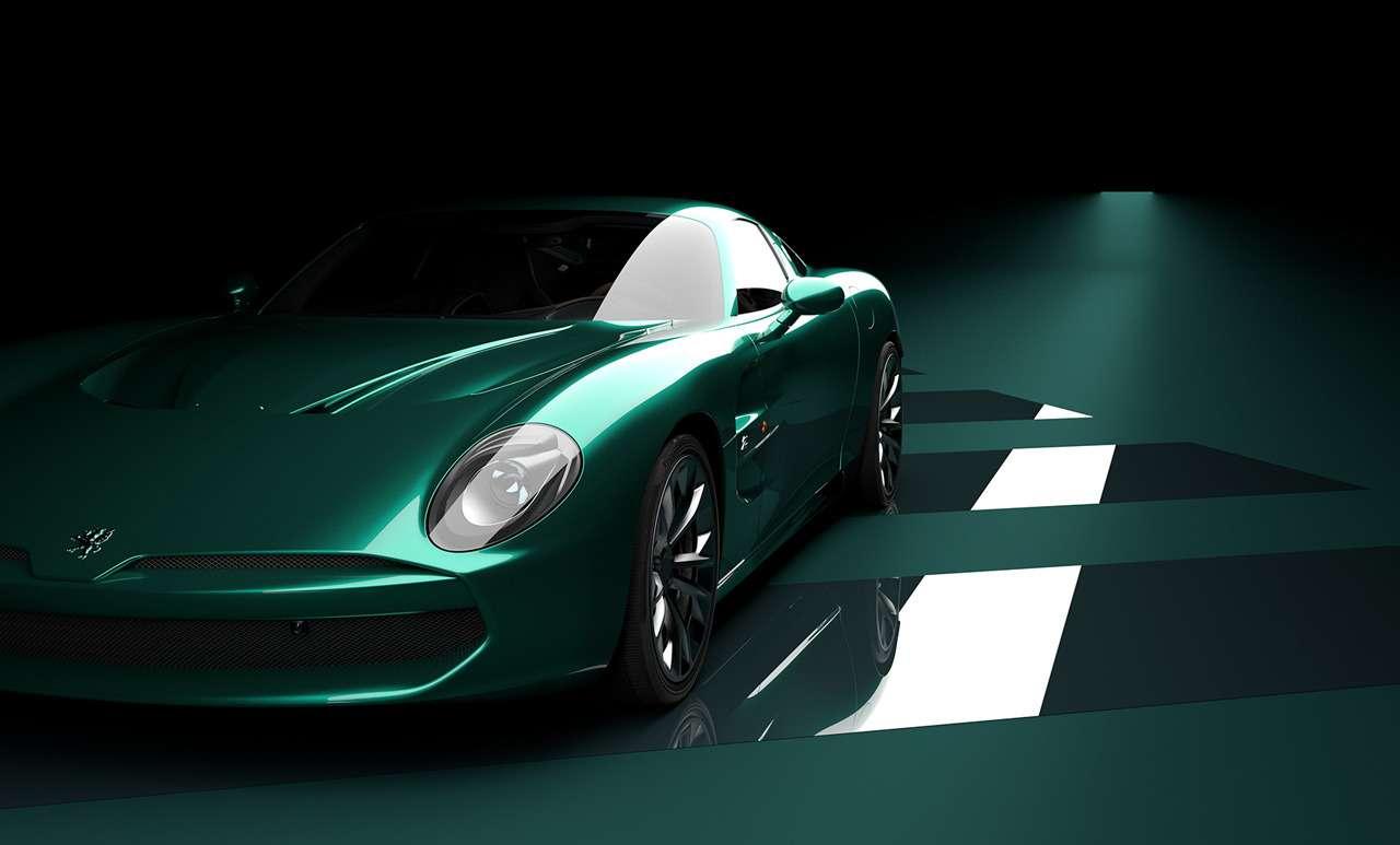Взгляд неоторвать: Итальянская Zagato готовит купе изкарбона— фото 1155521
