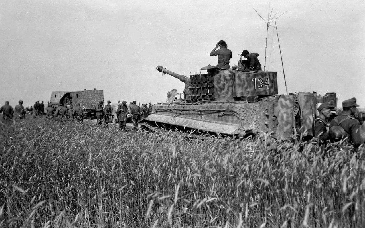 Немецкий «Тигр» против нашего ИС-2— битва технологий— фото 952545