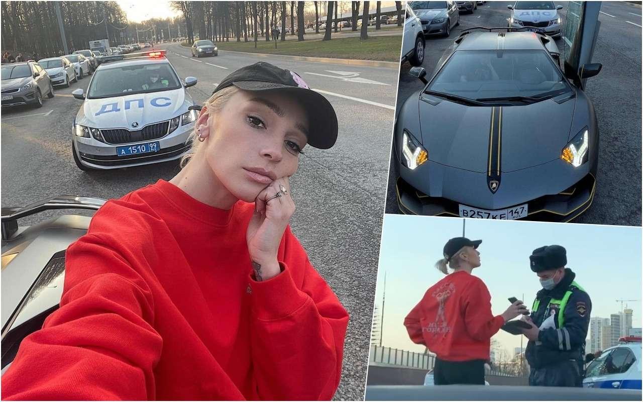 Снова блогер— уИвлеевой конфисковали Lamborghini