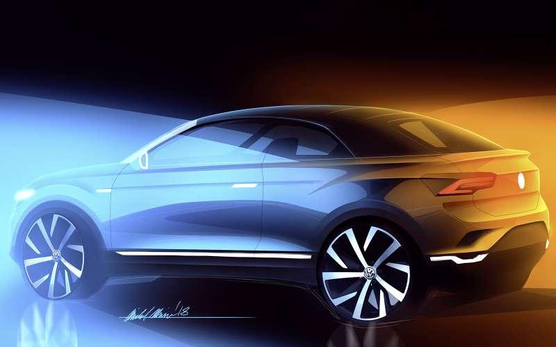 Volkswagen T-Roc превратят вкабриолет