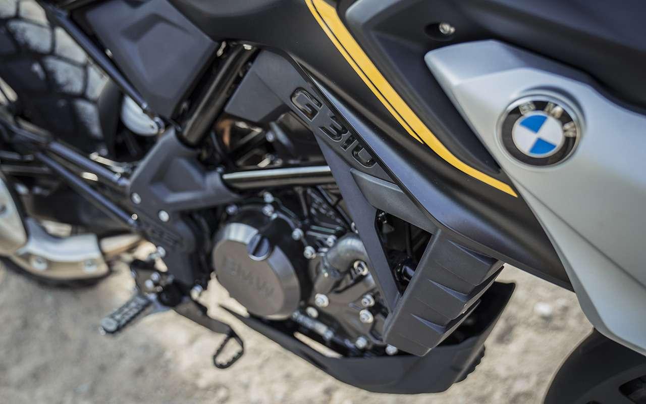 Байку BMW G 310 GS добавили светодиодов - фото 1194262