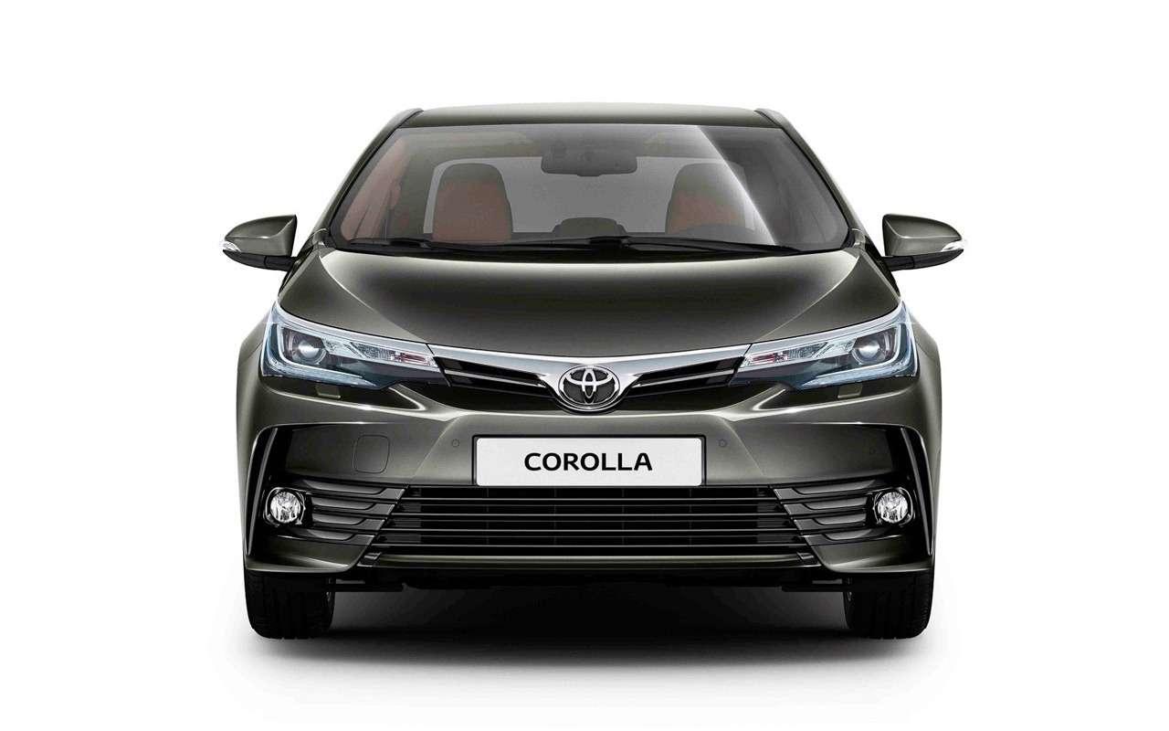 Новая Toyota Corolla: ищем отличия отпредшественницы— фото 924465