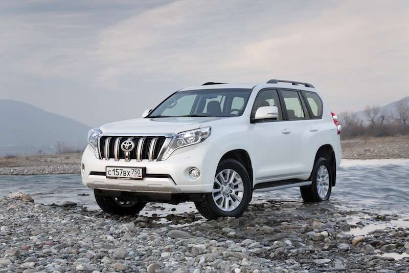 10-тысячный Toyota Land Cruiser Prado