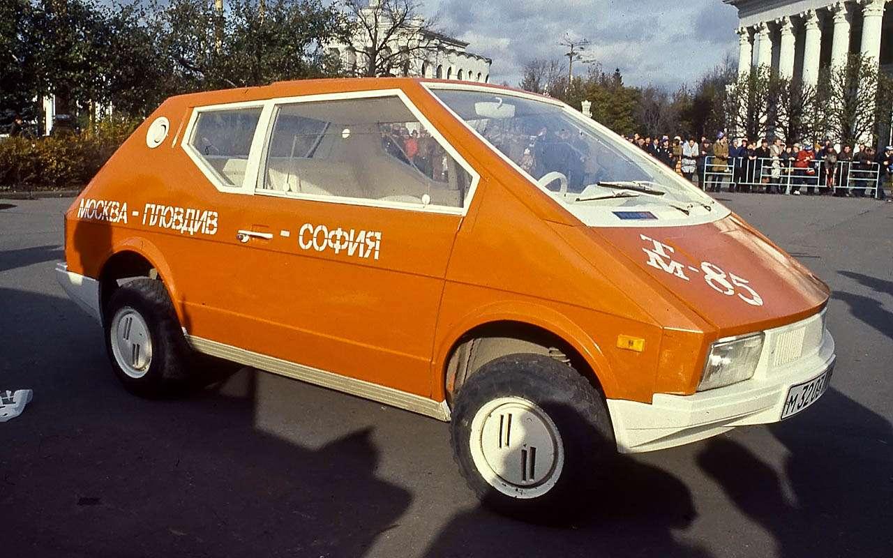 15уникальных самодельных автомобилей времен СССР— фото 809929