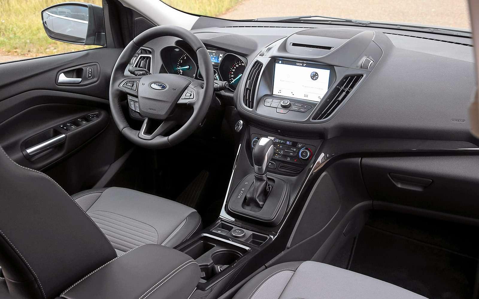 Обновленный Ford Kuga российской сборки: мыпоездили нанем первыми!— фото 674475