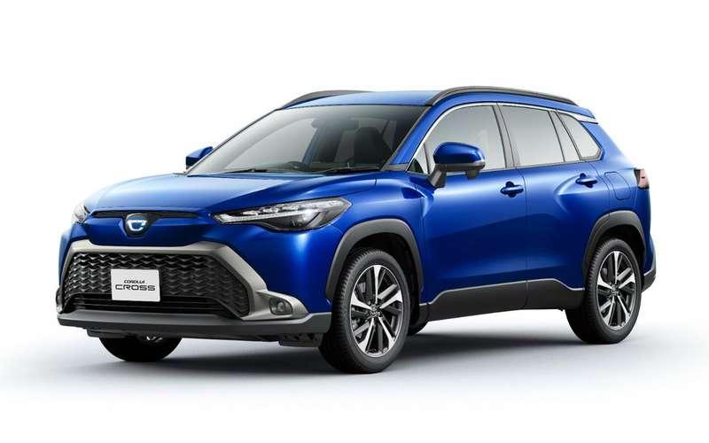 Новый кроссовер Toyota— Frontlander