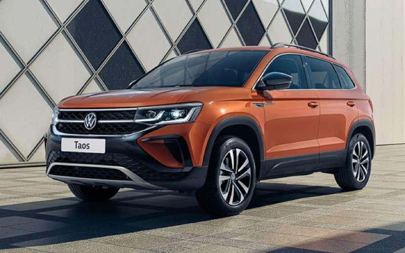 Volkswagen Taos: российские двигатели иоснащение