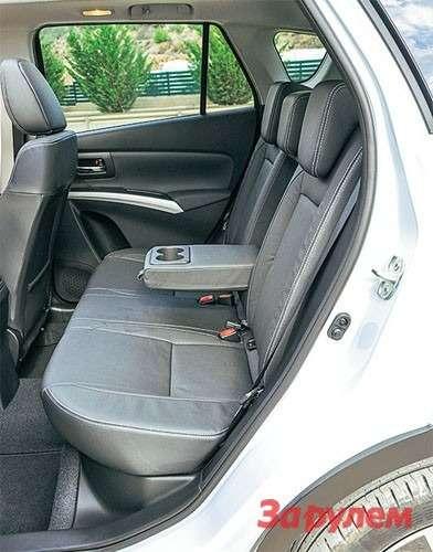 Suzuki New SX4 задний диван