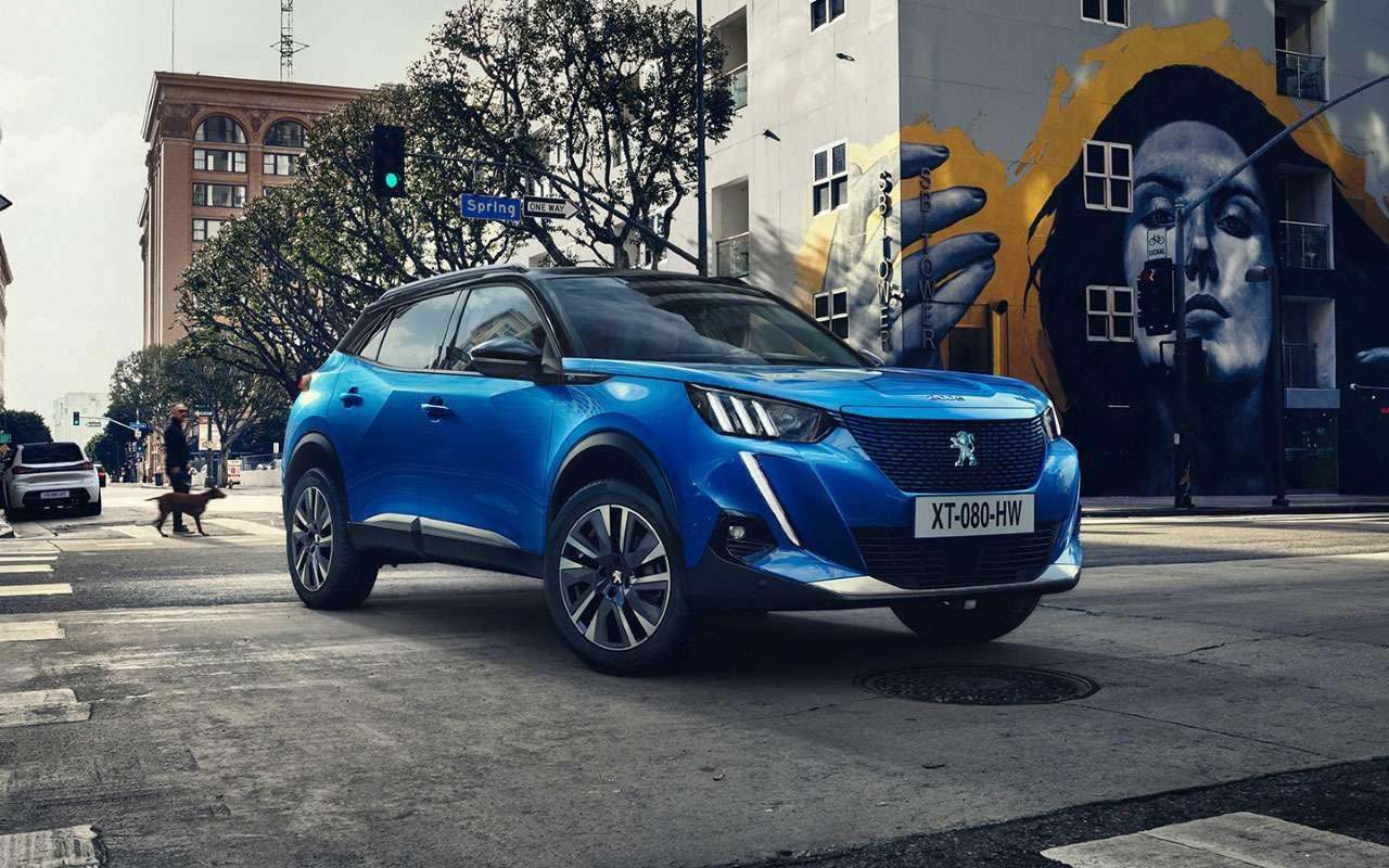 Peugeot представил конкурента Kia Seltos— фото 981304