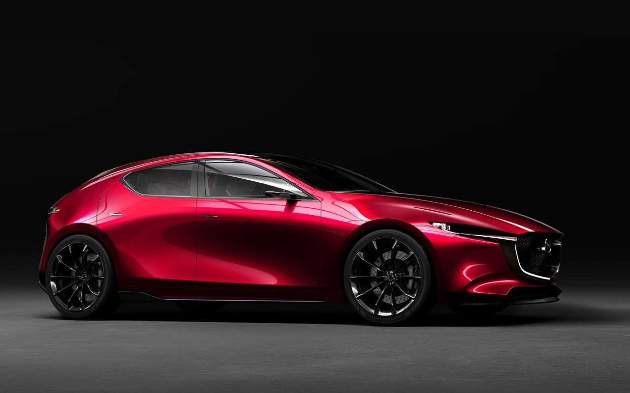 Новую Mazda 3показали навидео— фото 915033