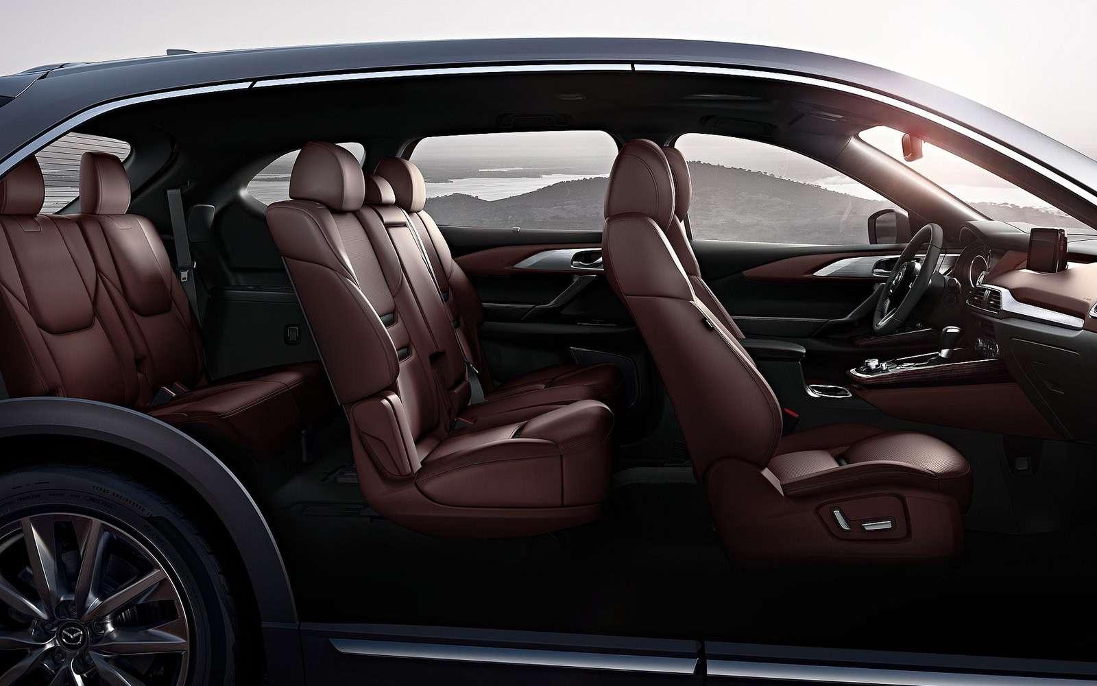 Mazda объявила рублевые цены накроссовер CX-9— фото 786318