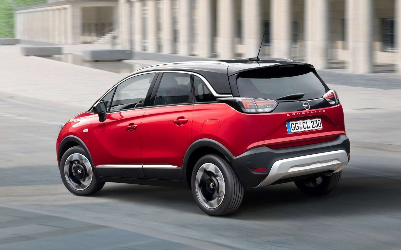 Opel Crossland: новый кроссовер приедет вРоссию— фото 1178430