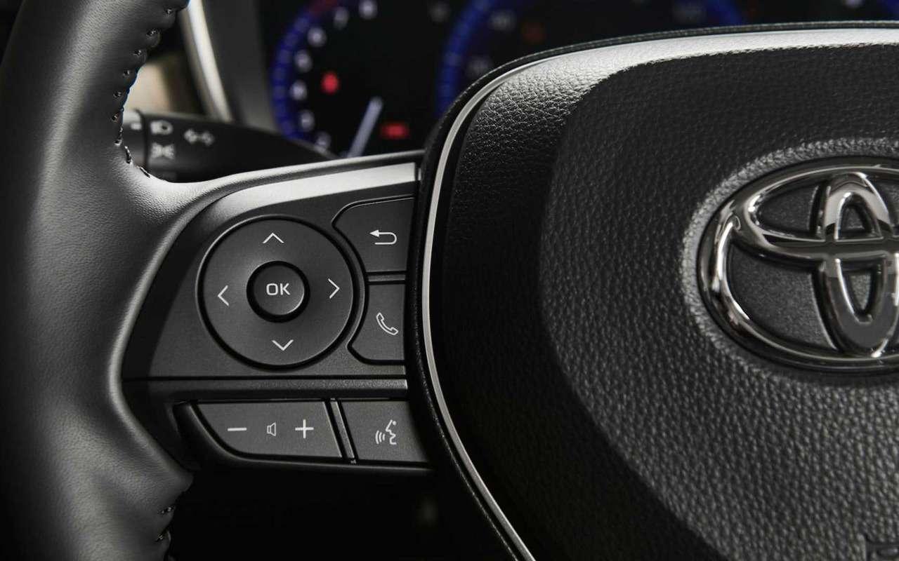 Toyota показала новую Короллу— фото 923257