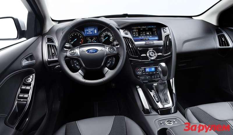 Интерьер Ford Focus 2010