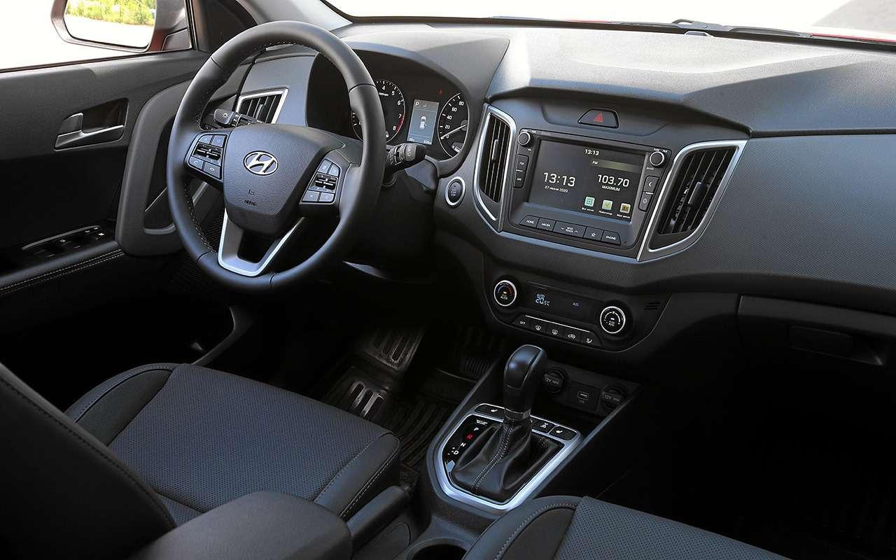 Hyundai Creta 2020: найдите все отличия (ихменьше 10)— фото 1142809
