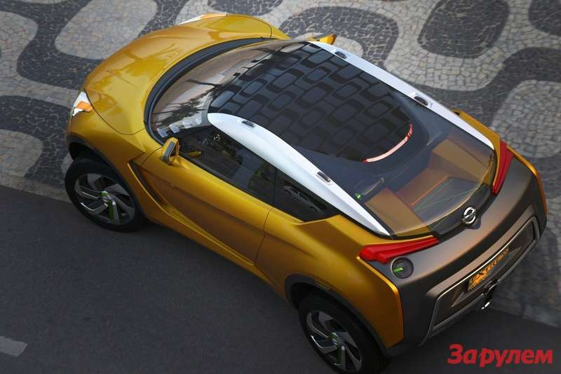 Nissan Extrem Concept top view